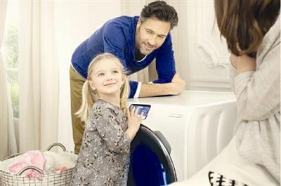 智能洗衣机 全触摸屏操作