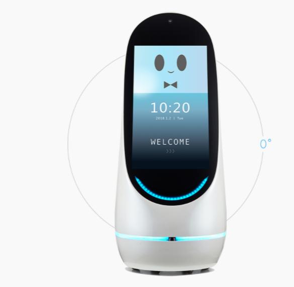 智能机器人 触摸屏运用无触不在