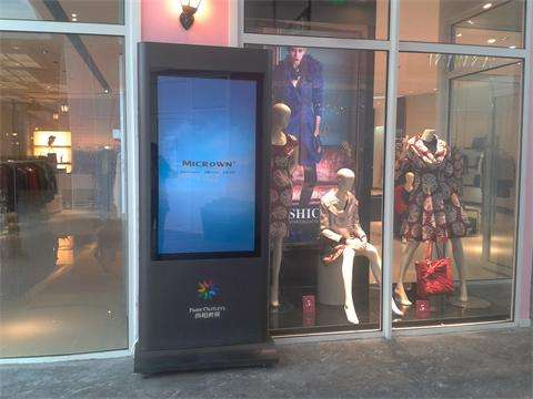 服装市场选购广告机的几点建议