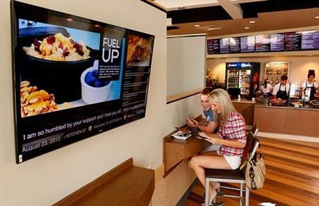 餐饮广告机使用技巧