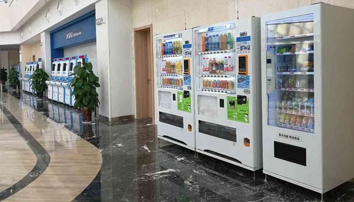 电容触摸屏售货机应用广泛
